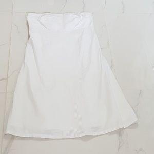 GUC GAP White Strapless Summer Dress